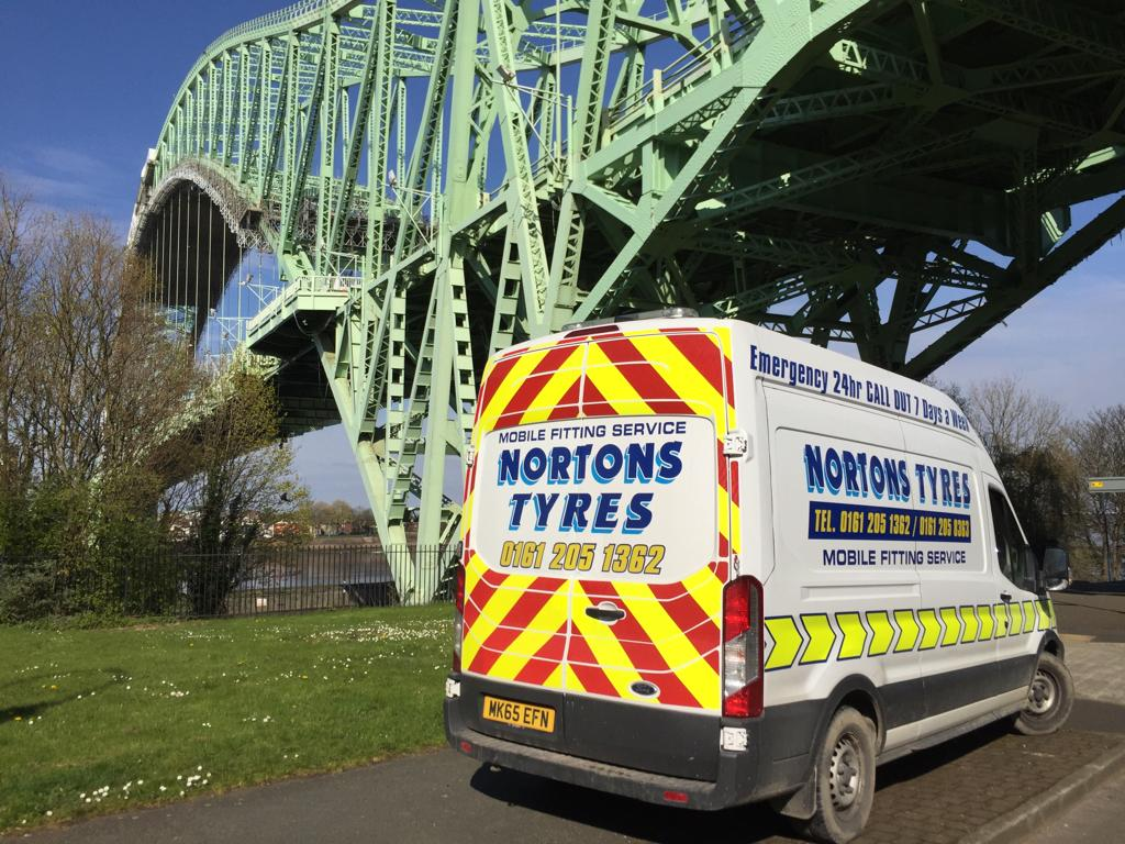 mobile tyre fitting 24hours Greater Manchester